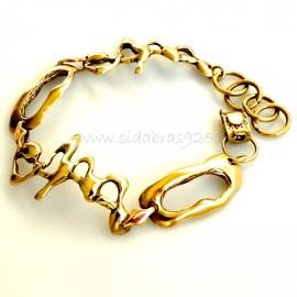 Brass bracelet ŽAp437-2