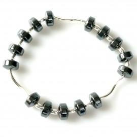 Bracelet with Hematite