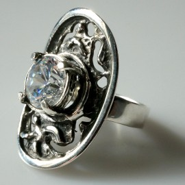 Žiedas su Cirkoniu Ž099