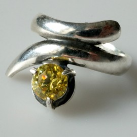 Žiedas su Cirkoniu Ž052