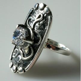 Žiedas su Cirkoniu Ž157
