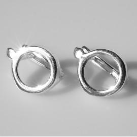 Earrings minimalist balls