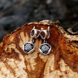 Earrings Rose Blossom