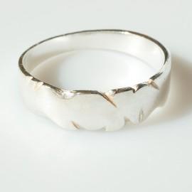 Обручальное кольцо Ž004
