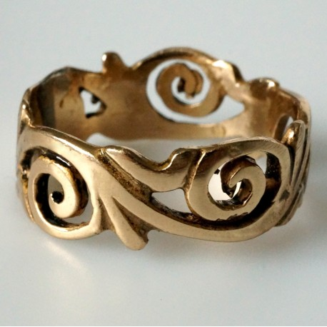 Bronzins žiedas BŽ758