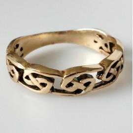 Кольцо из бронзы BŽ704