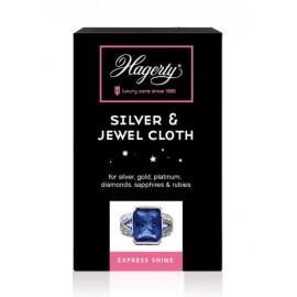 Valymo priemonė Hagerty Silver & Jewel Cloth