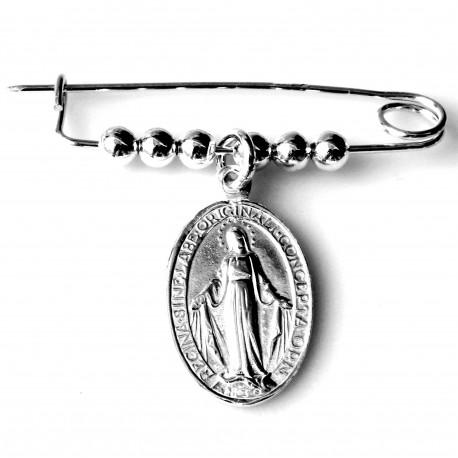 """Sagė krikštynoms """"Žiogelis su Marijos medalionu"""""""
