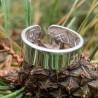 Žiedas su iškalinėtais ženklais visiems dydžiams