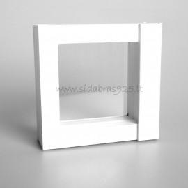 """Gift box """"Frames 3D"""" TW28 white 70X70"""