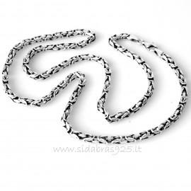 """Chain handmade round blackened """"Hadas"""""""