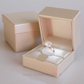 Подарочная коробка в кремовом цвете с LED подсветкой