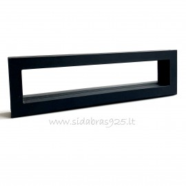 """Dovanų dėžutė """"Rėmeliai 3D"""" juoda"""