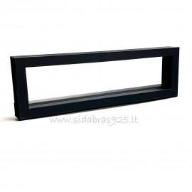 "Коробка подарочная ""Рамки 3D"" чёрная"