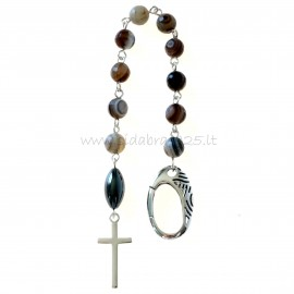 Rosaries Tenner with ornate clasp