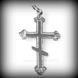 Подвеска Кулон Русский Православный Крест Шестиугольный