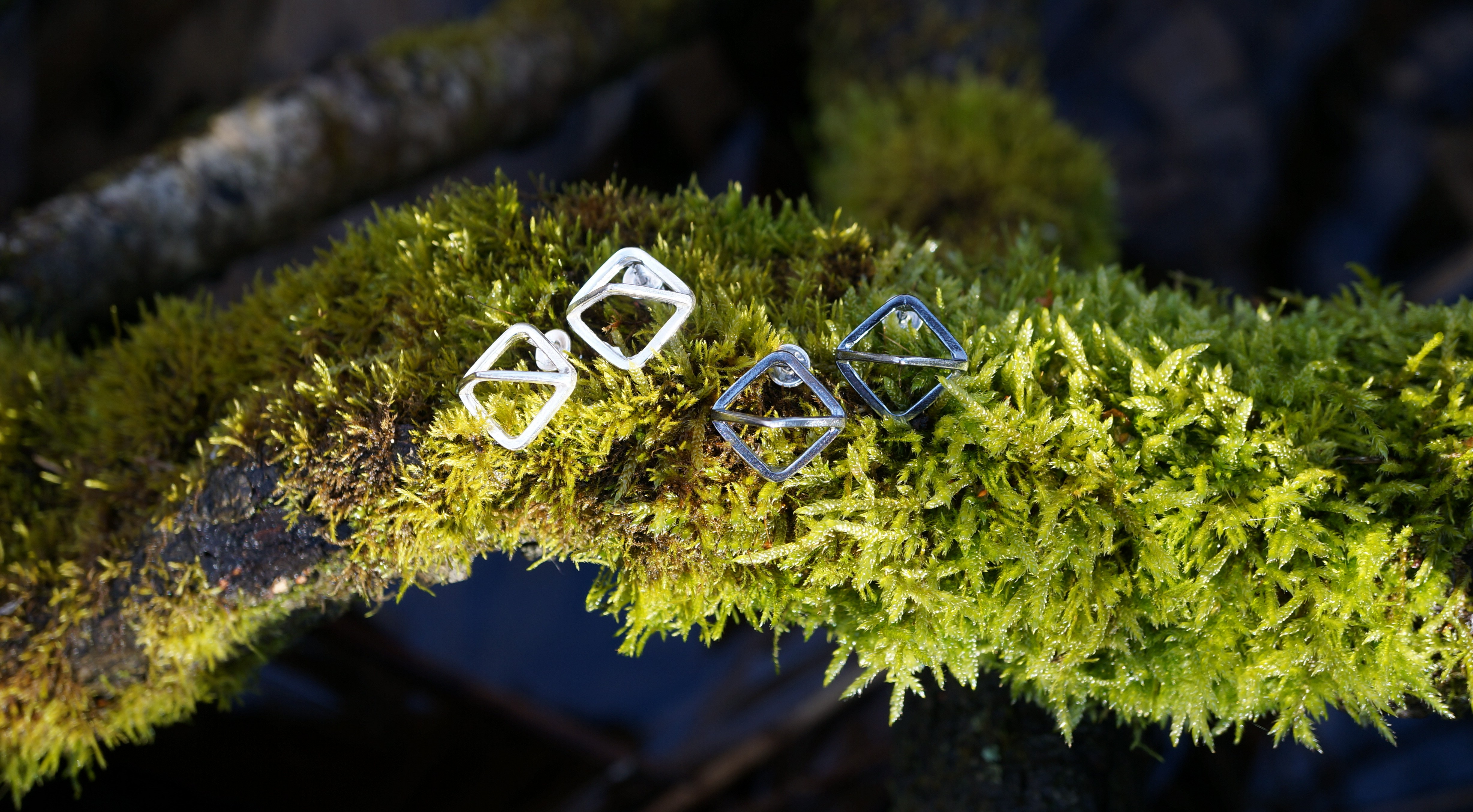 Discount for silver earrings